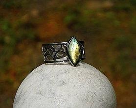 """Náramky - Nerezový náramek """" Silver and stone """" - 10700602_"""