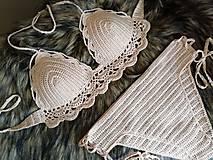 Bielizeň/Plavky - Plavky hnedé - 10699320_