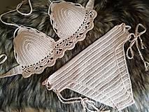 Bielizeň/Plavky - Plavky hnedé - 10699321_