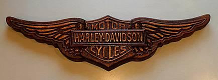 Drevorezba HARLEY DAVIDSON