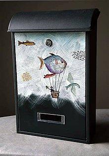 Dekorácie - Lietajúce ryby - 10700988_