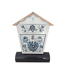 Nádoby - Modrý ornament - 10701081_