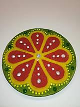 Magnetky - Magnetka Mandala z piesku ø8cm - 10700336_