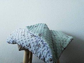Textil - Minky deka - 10700409_