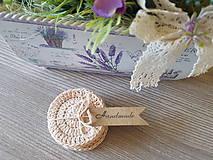Úžitkový textil - 100% BIO bavlna - Háčkované odličovacie tampóny - 10700347_