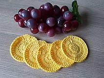 Úžitkový textil - 100% BIO bavlna - Háčkované odličovacie tampóny - 10700350_