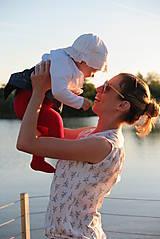 Topy - Blúzka na dojčenie BIRDS - 10701888_