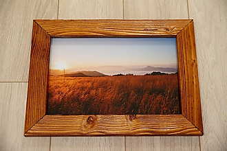 Rámiky - Drevený rámik na fotku - 10701452_