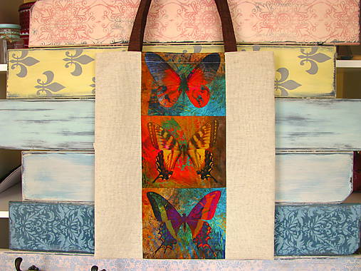 Taška pro sběratelku motýlů