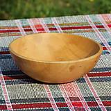 Nádoby - miska z bukového dreva - 10700713_