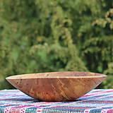 Nádoby - miska z bukového dreva - 10701174_