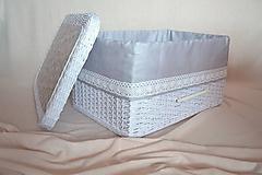 Košíky - Šatníkový box BARBIE - 10699792_