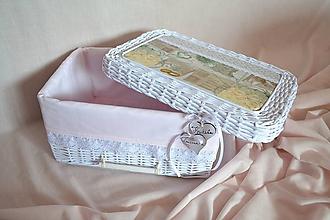 Košíky - Svadobný box ZSUZSU - 10699701_