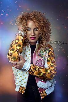 Kabáty - Bombera Luxury GOLD - 10704693_