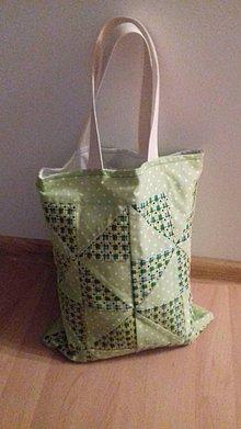 Veľké tašky - Patchworková taškaVRTUĽKY - 10704626_