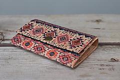 Peňaženky - Korková peňaženka M boho - 10704510_