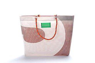 Veľké tašky - Úsmev ako dar: DORKA bag edícia VÚB I. - 10702762_