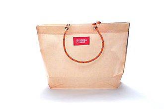 Veľké tašky - Úsmev ako dar: DORKA bag edícia VÚB IV. - 10704325_