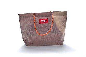 Veľké tašky - Úsmev ako dar: DORKA bag edícia VÚB VII. - 10704517_