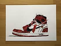 Grafika - Nike off white print - 10703284_