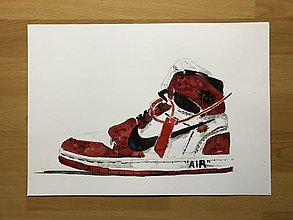 Grafika - Nike off white print - 10703284_