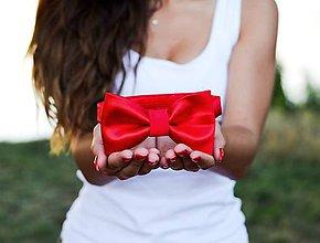 Doplnky - Pánska kravata + detský motýlik  (detský motýlik) - 10702150_
