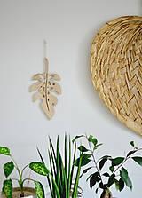 Dekorácie - list rastliny - 10704037_