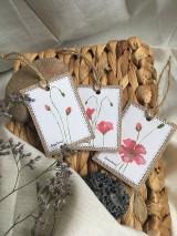 Papiernictvo - Vlčie maky - darčekové kartičky - 10703838_