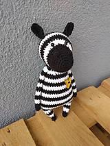 Hračky - zebra - 10702393_