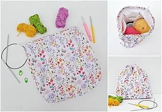 Iné tašky - Tvoritaška ~ projektová taška na vaše tvorenie - 10703204_