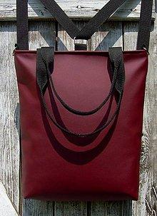 Batohy - backpack 3in1-  basic red - Batoh & taška cez rameno - 10702544_