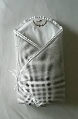 Textil - Zavinovačka Vyšívaná ku krstu - 10708314_
