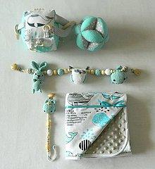 """Textil - Set  """" velrybka """" - 10708387_"""