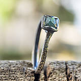 Prstene - Ako požiadať divožienku o ruku /s diamantom/ - 10706173_