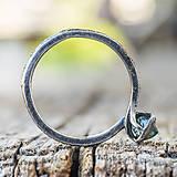 Prstene - Ako požiadať divožienku o ruku /s diamantom/ - 10706174_