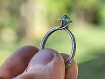 Prstene - Ako požiadať divožienku o ruku /s diamantom/ - 10706179_