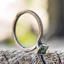 Prstene - Ako požiadať divožienku o ruku /s diamantom/ - 10706185_