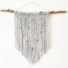 """Dekorácie - Závesná makramé dekorácia """"Pocahontas"""" - 10707593_"""
