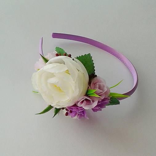 d0147f5fc Kvetinová čelenka fialová / Ewwwelin - SAShE.sk - Handmade Detské ...