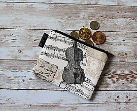 Peňaženky - Peňaženka,taštička XV - 10707517_
