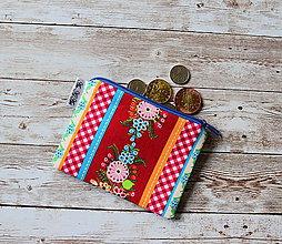 Peňaženky - Peňaženka,taštička XVIII - 10707573_