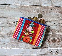 Peňaženky - Peňaženka,taštička XIX - 10707587_