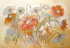Kresby - Čas kvetov - 10708282_