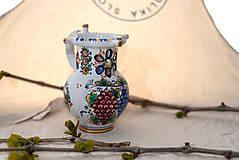 Nádoby - Špásový farebný džbán - 10706791_