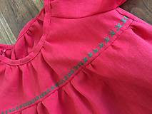 Detské oblečenie - ĽANOVÁ BLÚZOČKA - 10707829_