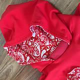 Detské oblečenie - Mikinka folklor - 10707851_