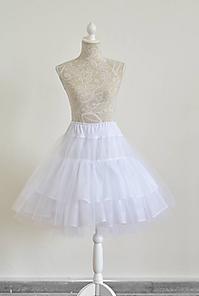 Sukne - Spodnička pod šaty/sukňu - 10708323_