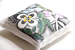 Úžitkový textil - hodvábna obliečka INŠPIROVANÉ... - 10707356_