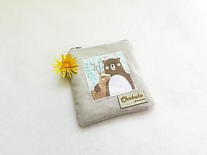 Taštičky - Taštička medveď a jelenček - 10706052_