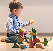 Hračky - Korková stavebnica RETRO 2 - 10705734_